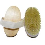 Dry skin brush body