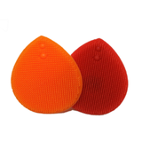 Rood/oranje gezichtsreinigers