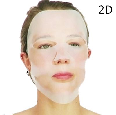 Gezichtsmaskers 2D en 3D
