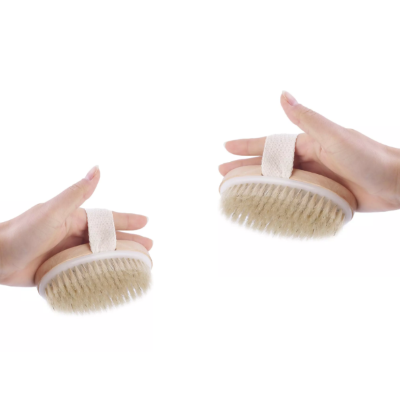 Dry skin brush body