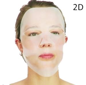 Aimee met 2D masker