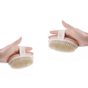 Dry skin brushes