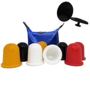 Color cups met tasje en pad
